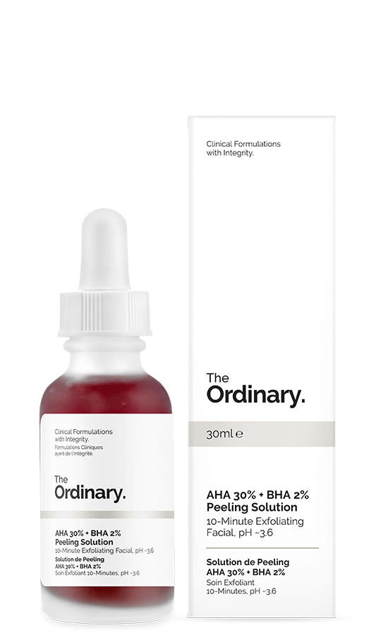 The Ordinary Red Peel