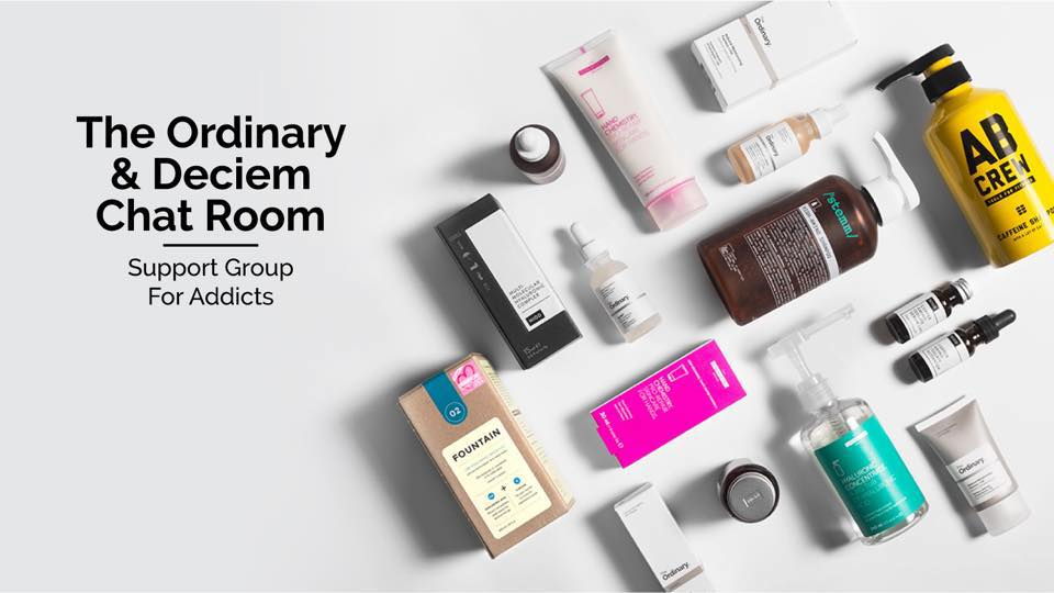 The Ordinary & Deciem Chat Room