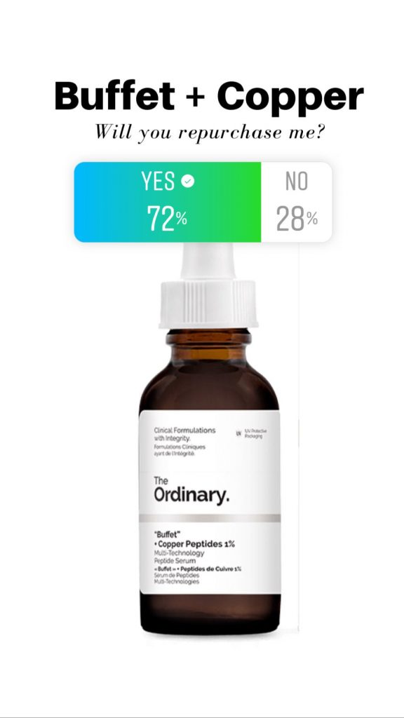 The Ordinary Buffet + Copper Peptides Reviews