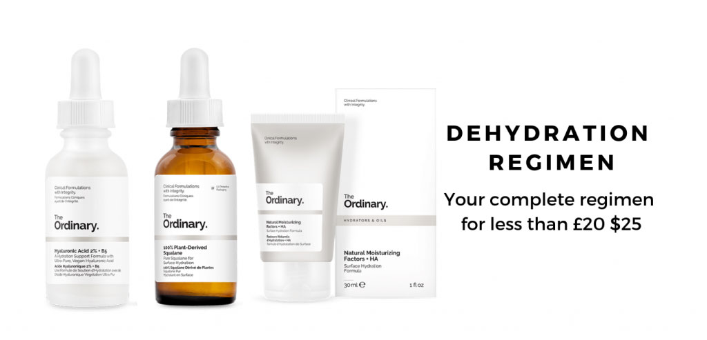 The Ordinary Products for Dehydration