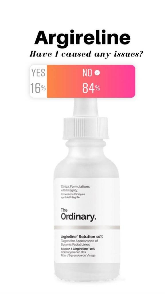 The Ordinary Argireline Reviews