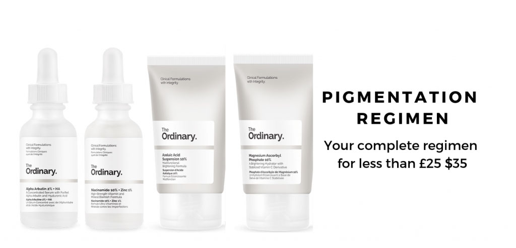 The Ordinary Regimen for Pigmentation