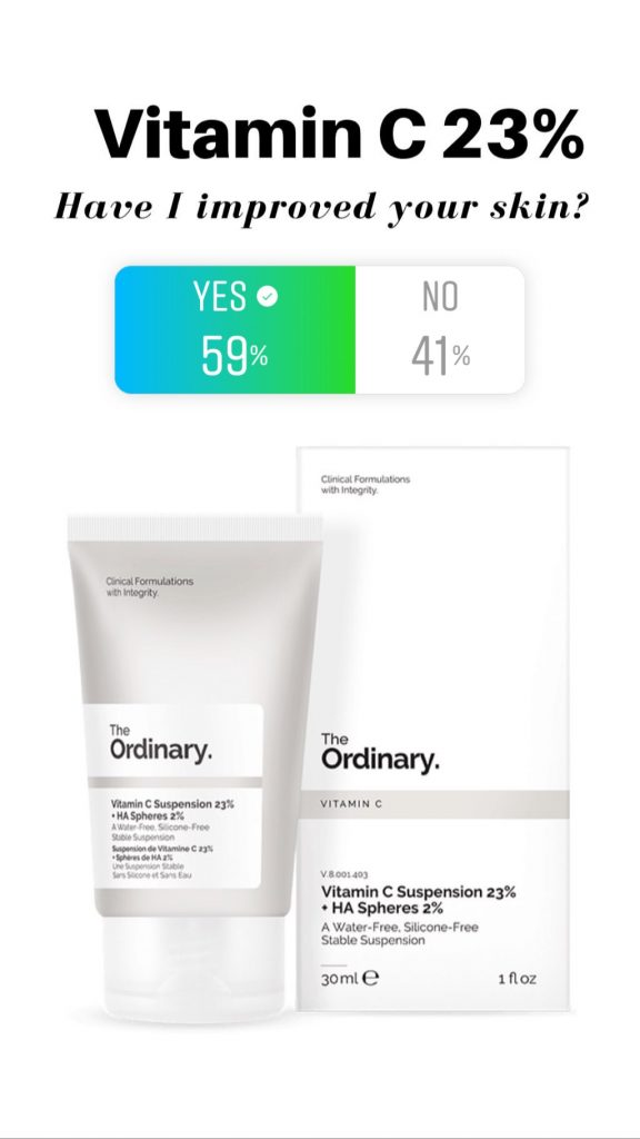 The Ordinary Vitamin C 23% reviews