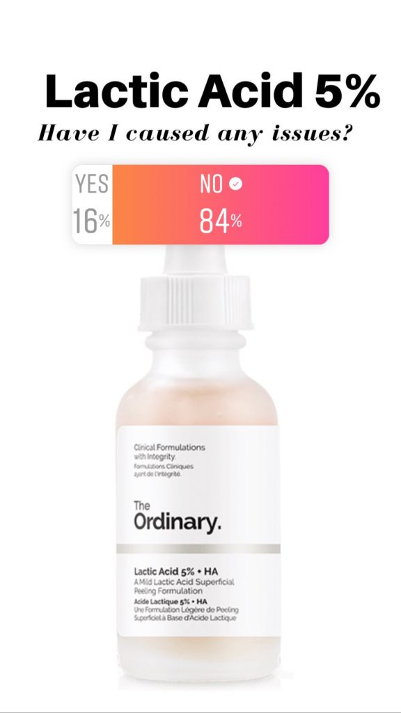 The Ordinary Lactic Acid 5% Reviews