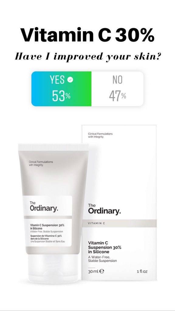 The Ordinary Vitamin C 30% Reviews