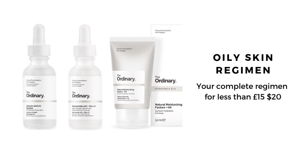 The Ordinary Oily Skin Regimen