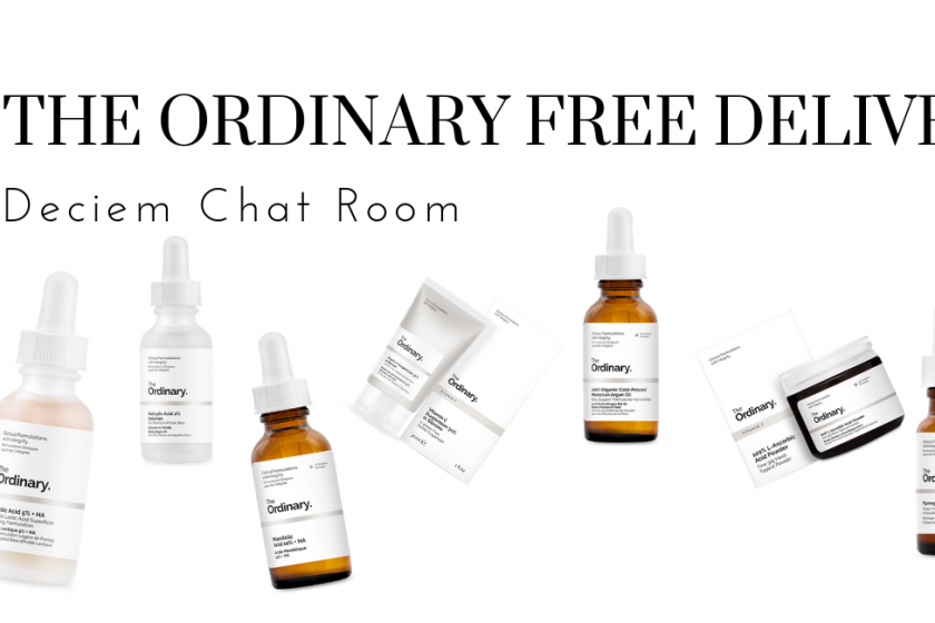 The Ordinary Free Delivery