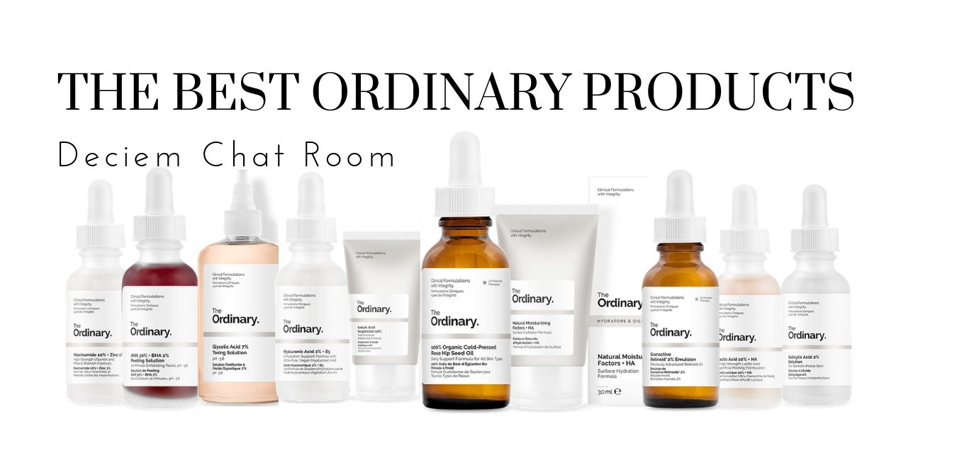 The Best Products from The Ordinary