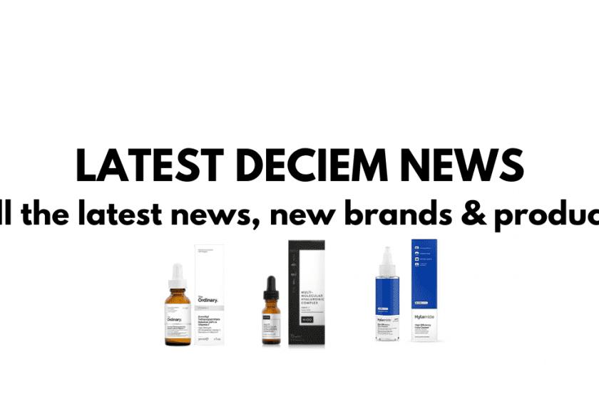 Deciem Latest News