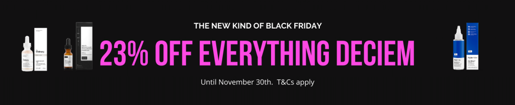 Deciem The Ordinary Black Friday Sale 2020 23 Off Everything Now