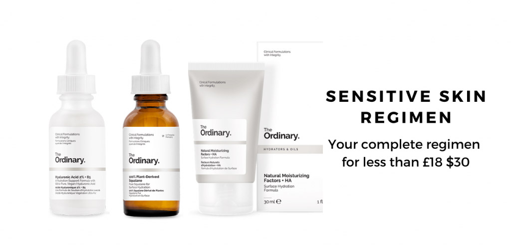 Sensitive Skin Regimen
