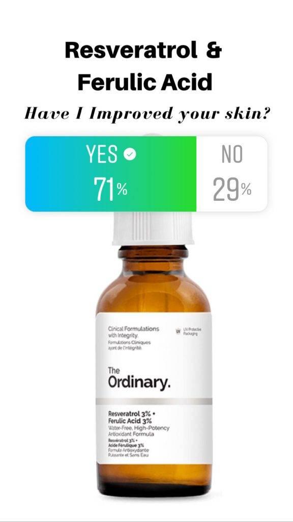 Resveratrol Ferulic Acid Reviews By The Deciem Addicts
