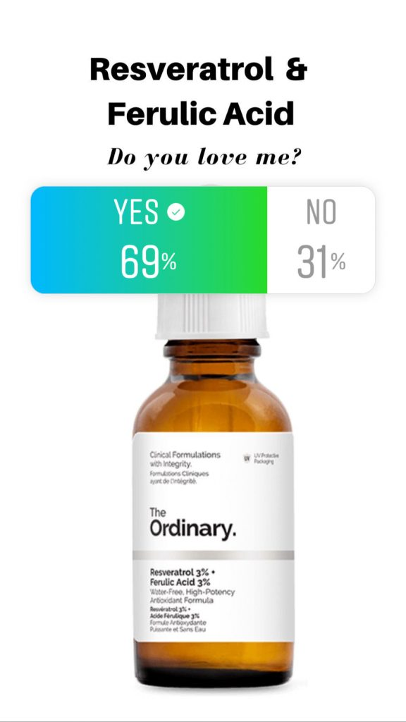 Resveratrol Ferulic Acid Reviews By The Deciem Addicts