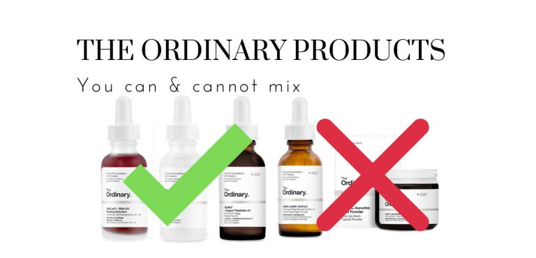 The Ordinary You Can & Cannot Mix