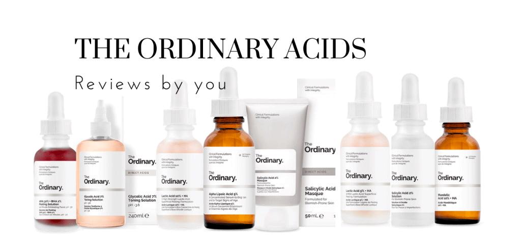 The Ordinary Acids Reviews