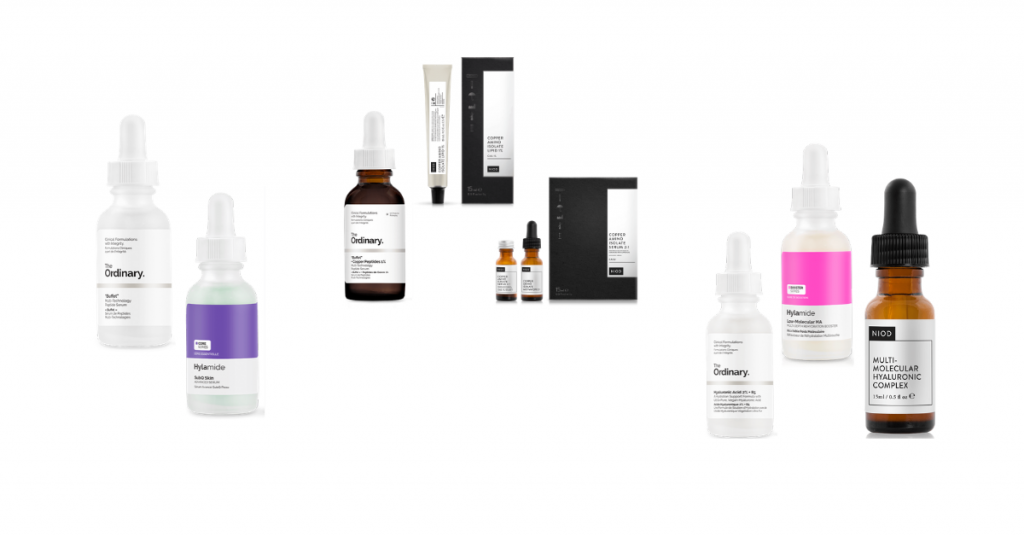 The Ordinary vs Hylamide vs NIOD