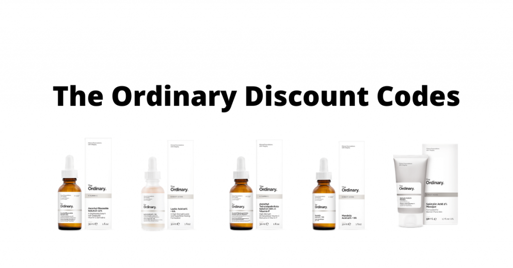 The Ordinary Discount Codes