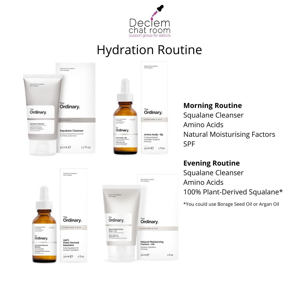 How to use The Ordinary - Hydration Routine
