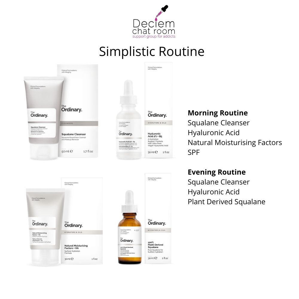 The Ordinary Simplistic Regimen