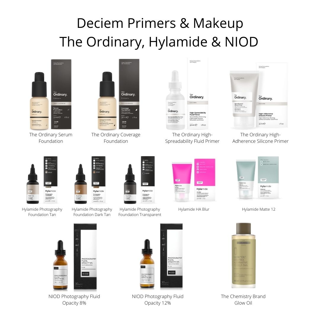 Deciem Foundations & Primers