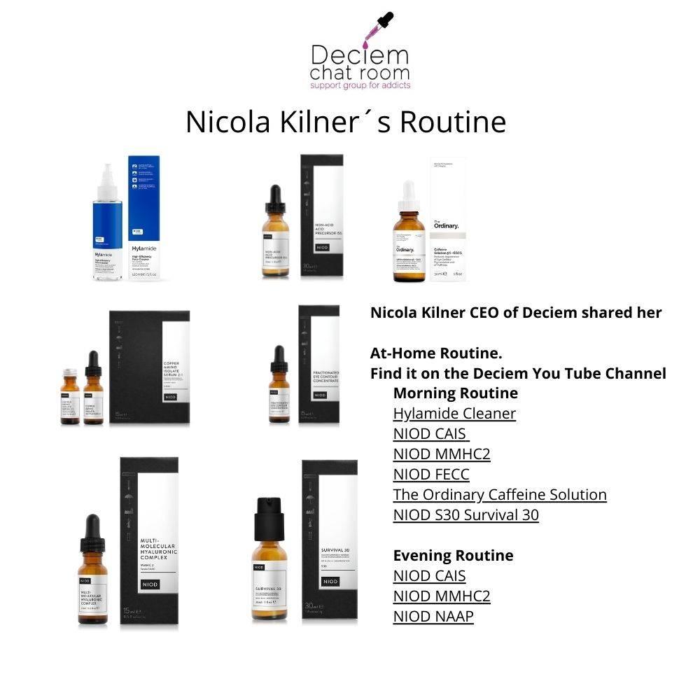 Nicola Kilner Routine