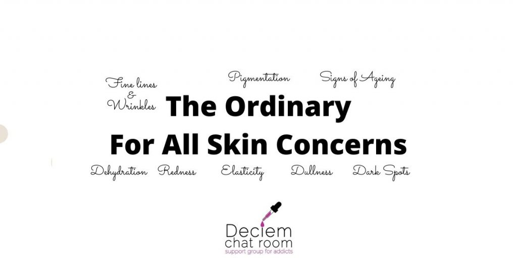 The Ordinary For All Skin Concerns