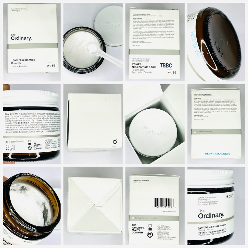 Authentic The Ordinary Niacinamide Powder
