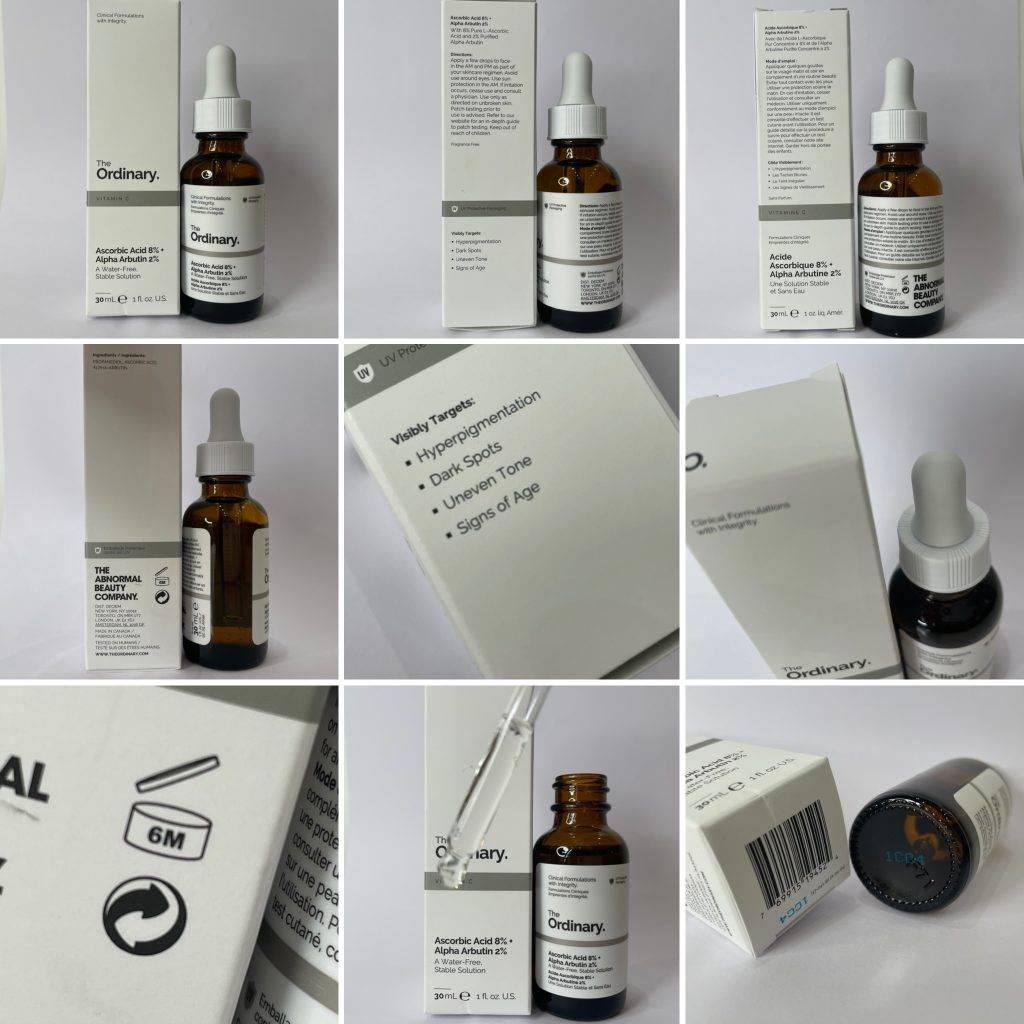 Ascorbic Acid & Alpha Arbutin Original Product