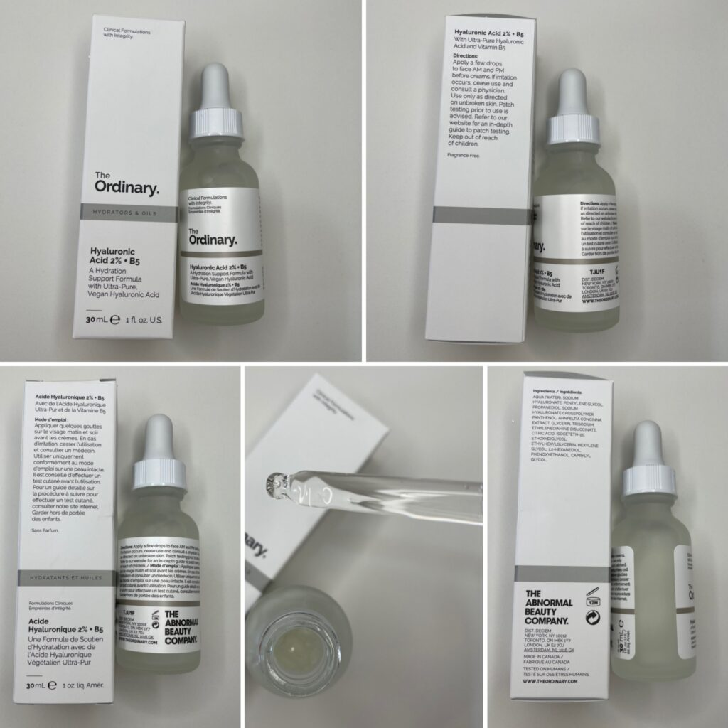Authentic Hyaluronic Acid