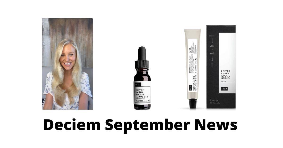 Deciem September News