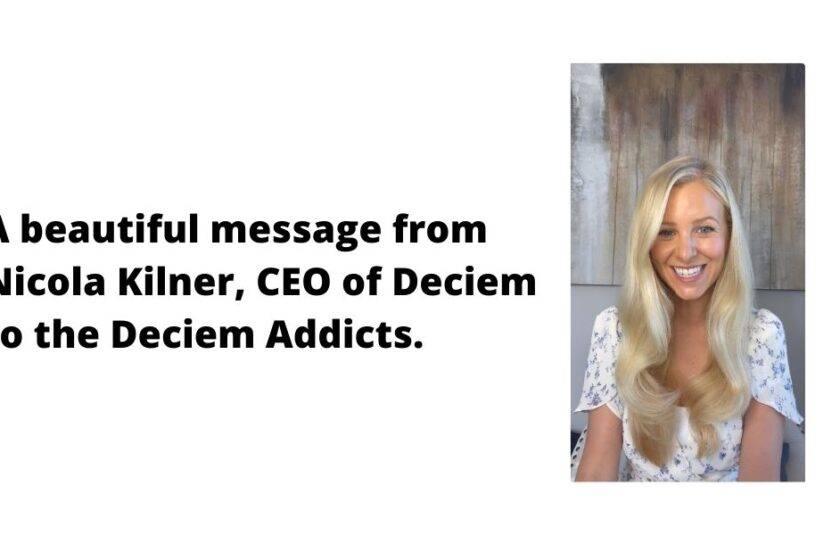 Nicola Kilner & Deciem Chat Room
